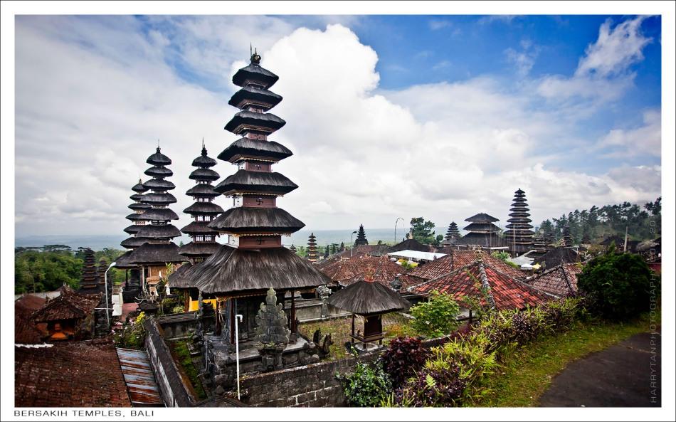 Bersakih Temples